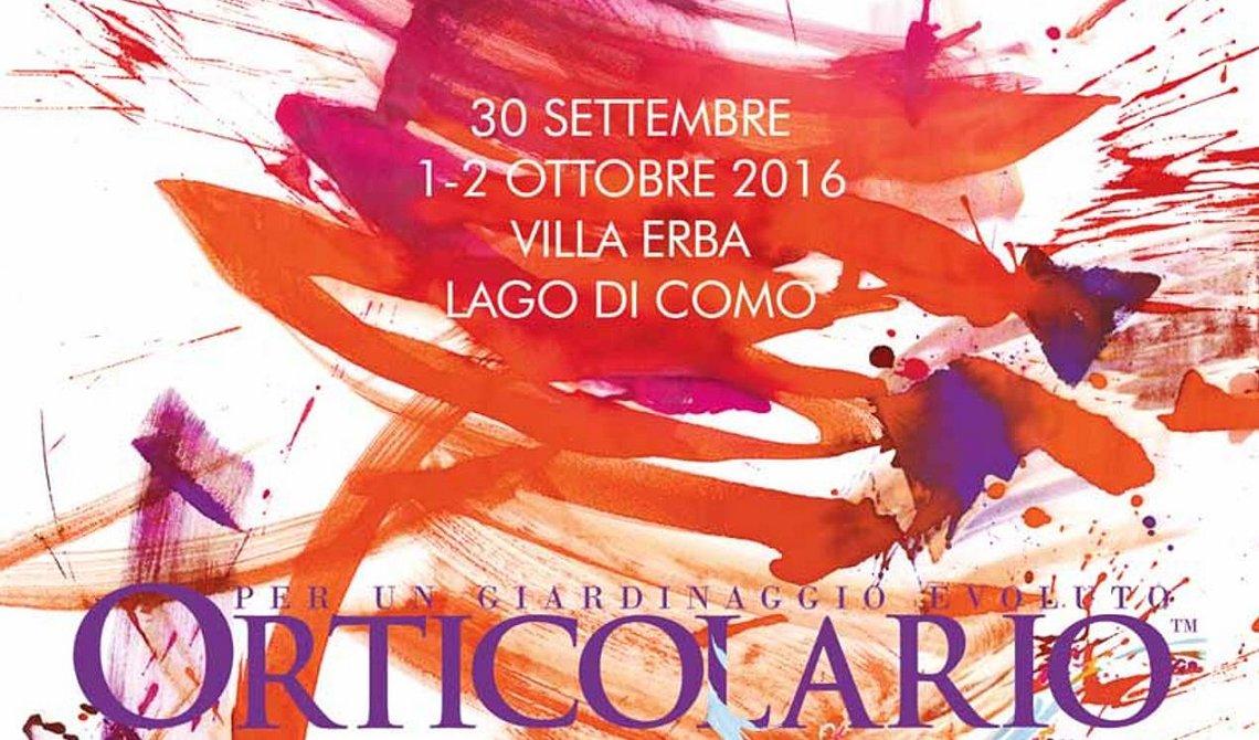 Cartolina Orticolario 2016 con Gerosa Antonio