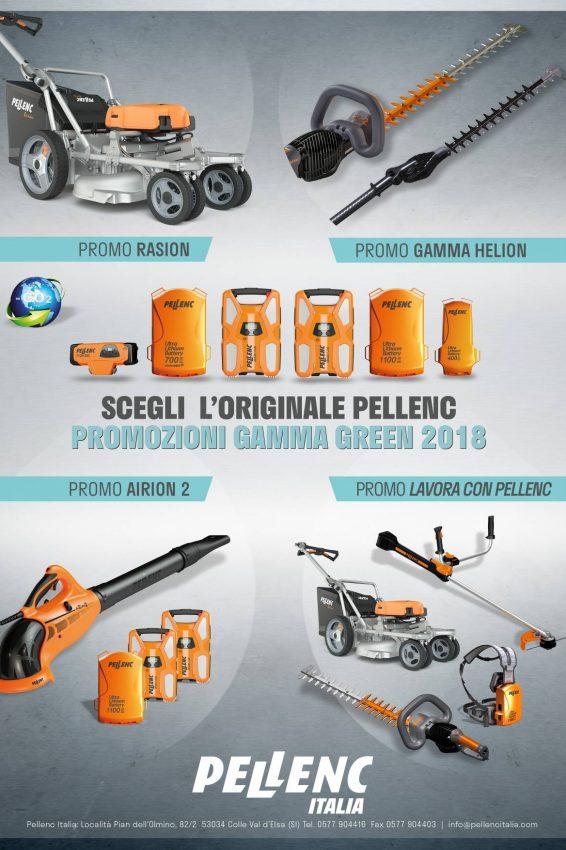 pellenc promo green 2018